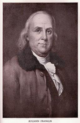 Benjamin Franklin bifocales inventor
